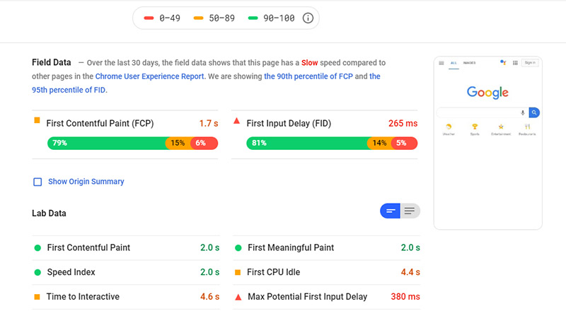 SEO Checklist Google PageSpeed - Basic SEO Checklist for 2019